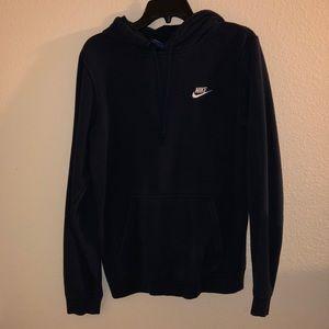 Dark Blue Nike Hoodie, Sweatshirt